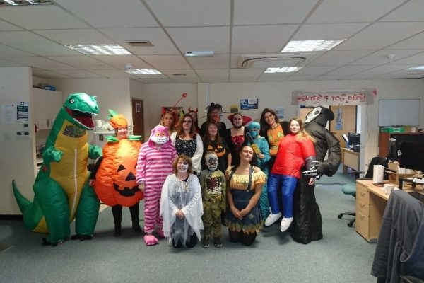 Halloween Staff Photo
